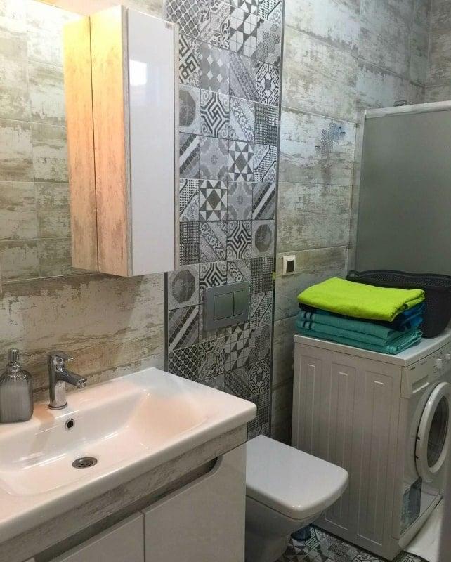 datça parla kiralık ev banyo