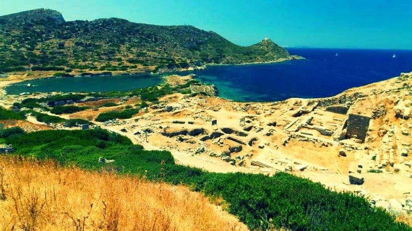 Knidos Antik Kenti kalıntıları
